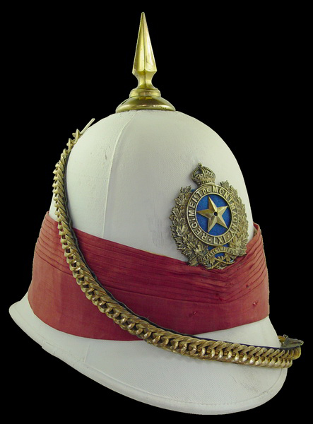 A helmet to the 61t Battalion Regiment de Montmagny circa 1907