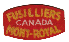 Canadian flocked felt title. Note mis-spelling. Bill Alexander