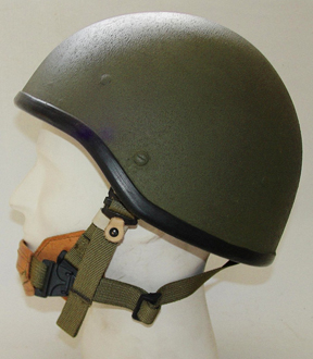 Israeli export helmet with modernized harness