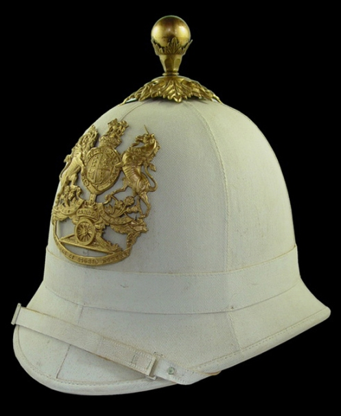 A Royal Canadian Artillery Universal Pattern Helmet Circa 1905