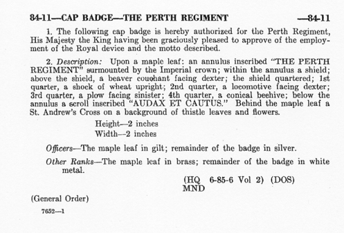 General Order dated 22 March 1948