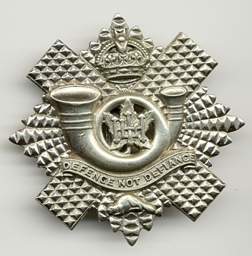 Highland Light Infantry cap badge