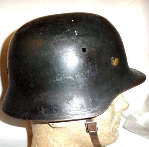 British copy of German M35 Stahlhelm