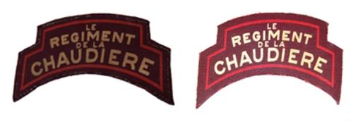 Author's collection – Left, canvas 1st Type, 1943-44. Author's collection – canvas 2nd Type 1943-45.