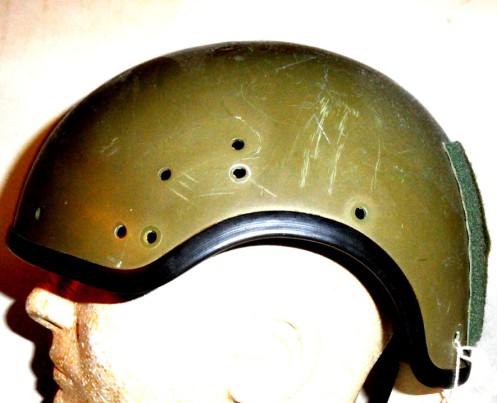 Gentex DH411 helicopter helmet shell