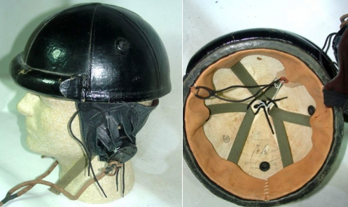 Helmet ,Crash, Tank Battalion