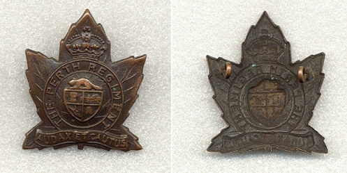 1st Pattern Cap badge circa mid 1920's.