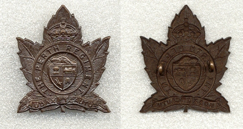 2nd Pattern Cap badge 1930's -1940's