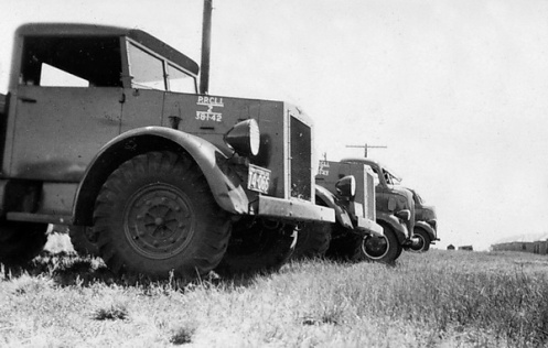 This photo clearly shows the approved vehicle marking policy which called for the unit abbreviation, the letter 'Z' denoting 'Truck', the year of purchase (1938), a separator to denote that the truck is the responsibility of the Ordnance (1) and the consecutive number of the truck within that year (42). Photo courtesy Princess Patricia's Canadian Light Infantry Museum and Archives