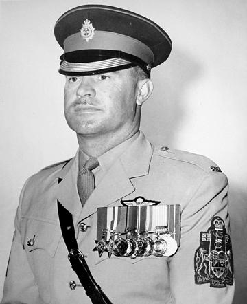 Regimental Sergeant-Major CJ Scott