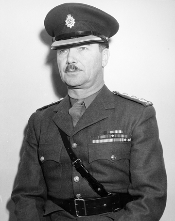 Canadian Guards Officer in Service Dress