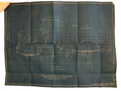 Drawings provided by Ford to DND to show the body and cab styles. MilArt photo archives