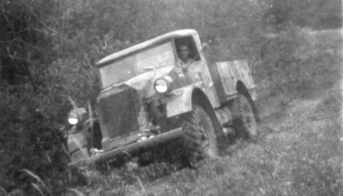 Believed to be the same truck as shown above. Regrettably the door number is illegible. MilArt photo archives