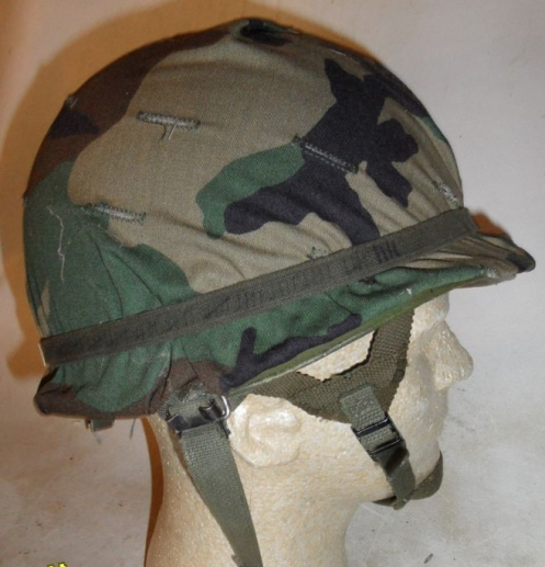 A Canadian issue M1 Parachutist helmet.
