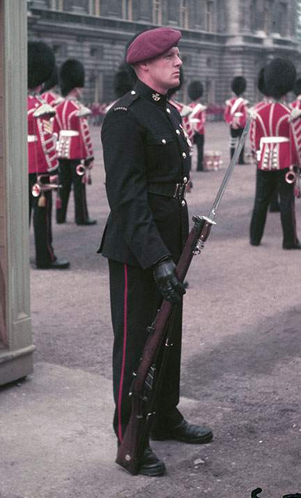 The new No.1 Dress uniform worn at the 1953 Coronation of HM Queen Elizabeth II. Photo courtesy Bruce Graham