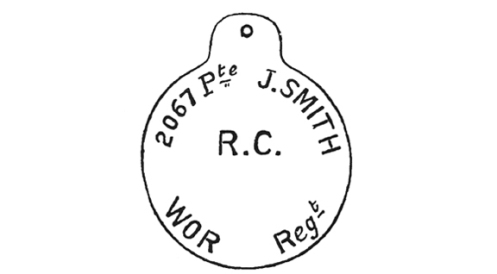 The use of the soldier's rank on the disc required that a new disc be issued with every promotion.