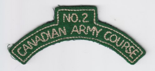 no 2 canadian army course green melton