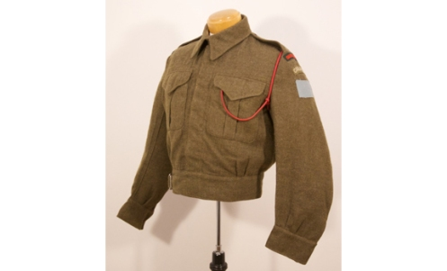 QOR Riflemans 1943 tunic – Graham Humphrey's Collection