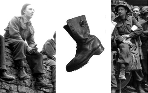 "Rfn Jim Wilkins ""Invasion boots"" - Rfn Jim Wilkins Collection"