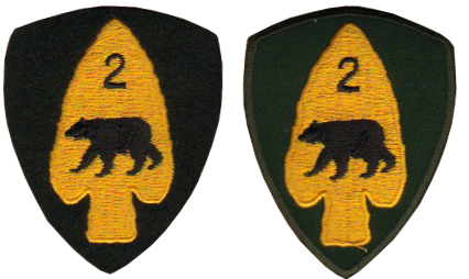 Second set of samples corrected the initial concerns but the colours were incorrect, especially the Garrison Dress badge which did not  display the 'subdued' colour expected. Courtesy Bill Alexander