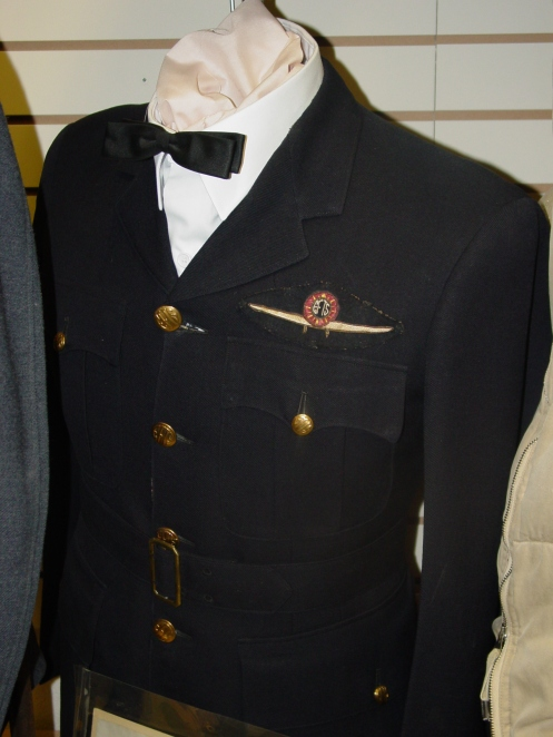 Uniform worn by an EFTS Ground School Instructor. Courtesy Saskatchewan Military Museum
