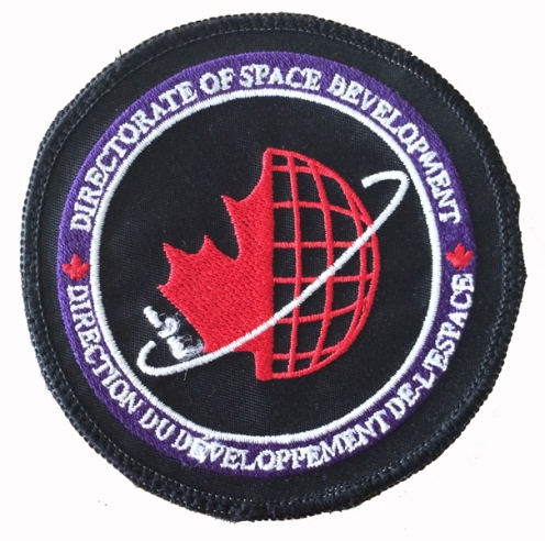 Directorate of Space Development (aka D Space D) full colour patch. Author's collection