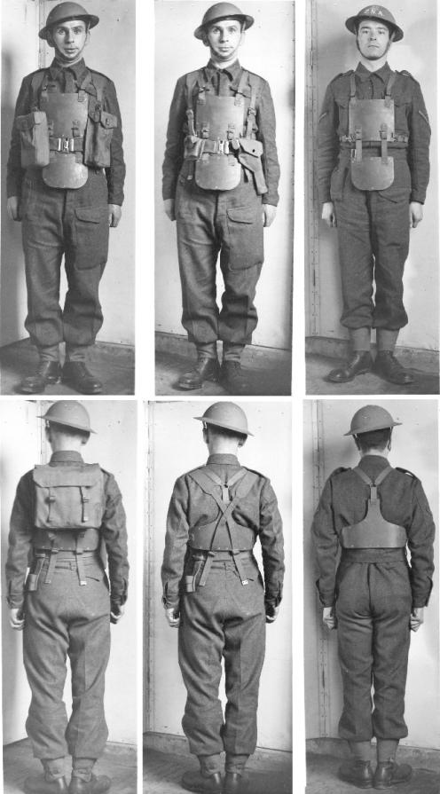 MRC armour montage