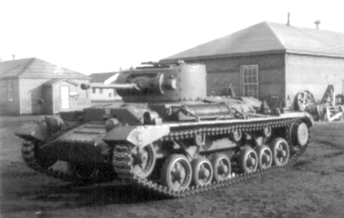 An example of the Infantry Tank, Mark III, Valentine, that the 1st Canadian Army Tank Brigade was to have been equipped with. Source: MilArt photo archive.