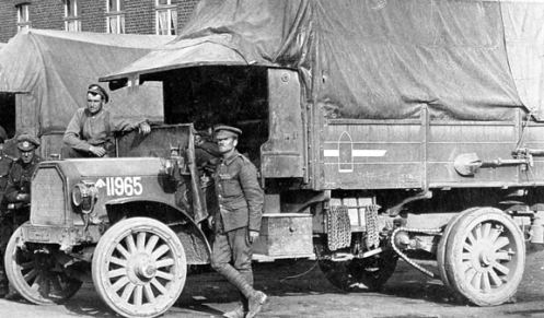 Another 1st Canadian Division vehicle, this one marked to an ammunition park. MilArt photo archives