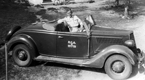 A 1935 Phaeton. Although this looks more suitable to its role as a roadster it was actually used as a field car. MilArt photo archives