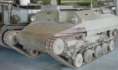 One of two surviving Tracked Jeep Mk.I pilots now on display in the Canadian War Museum's Lebreton Gallery. This example may be Pilot No.2, which underwent extensive reliability trials at No.1 Proving Ground, in Orleans, Ontario (just east of Ottawa).
