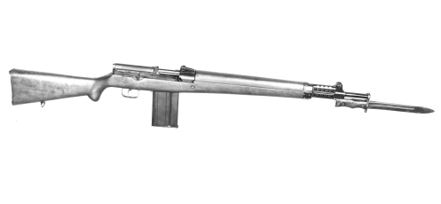 The EX1 before work was switched to a design based on the .30 calibre T65 round. MilArt photo archives