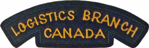 Proposed CF LOGISTICS BRANCH shoulder flash. Author's collection