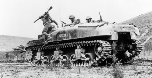 A 'Ram' Kangaroo armoured personnel carrier in postwar service with the British Army. Source: Bovington Tank Museum (BTM 2272-E1)
