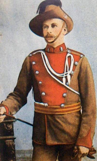 New South Wales Lancers, Full Dress, 1895