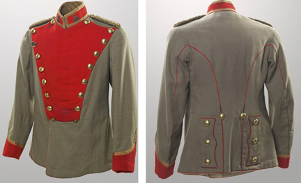 Officer's Jacket, Corps of Guides, Canadian War Museum Collection