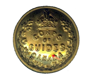 Button, Corps of Guides Pattern