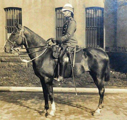 Officer and Horse, Corps of Guides, Courtesy Facebook